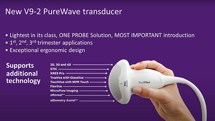 Applications of PureWave Technology to Prenatal Diagnosis youtube video thumbnail
