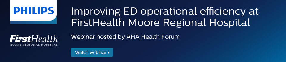 webinar ed operational efficiency firsthealth