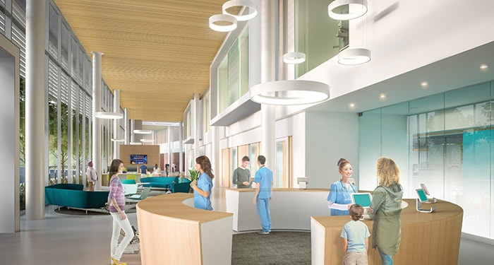 Spatial design of an emergency department Philips Healthcare