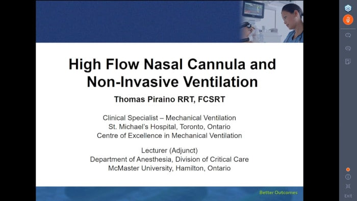 High Flow Nasal Cannula and Non-Invasive Ventilation: Current Evidence and Practice