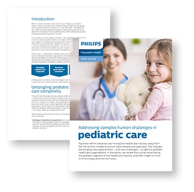 Philips Population Health Management - Pediatric care: the human challenges