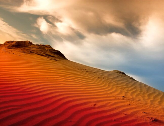 Silent Desert Scenery | Philips Healthcare
