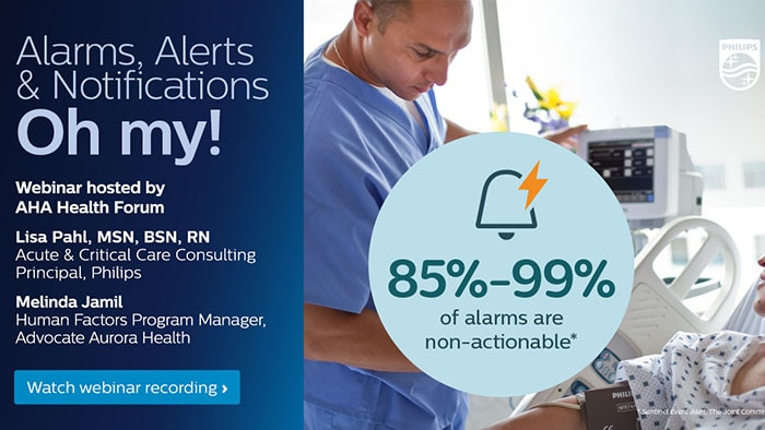 Implementing an alarm management plan at Advocate Aurora Health