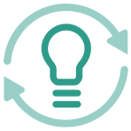 ideas and insights icon