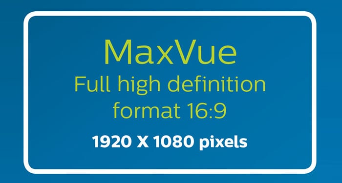 MaxVue high definition imaging icon