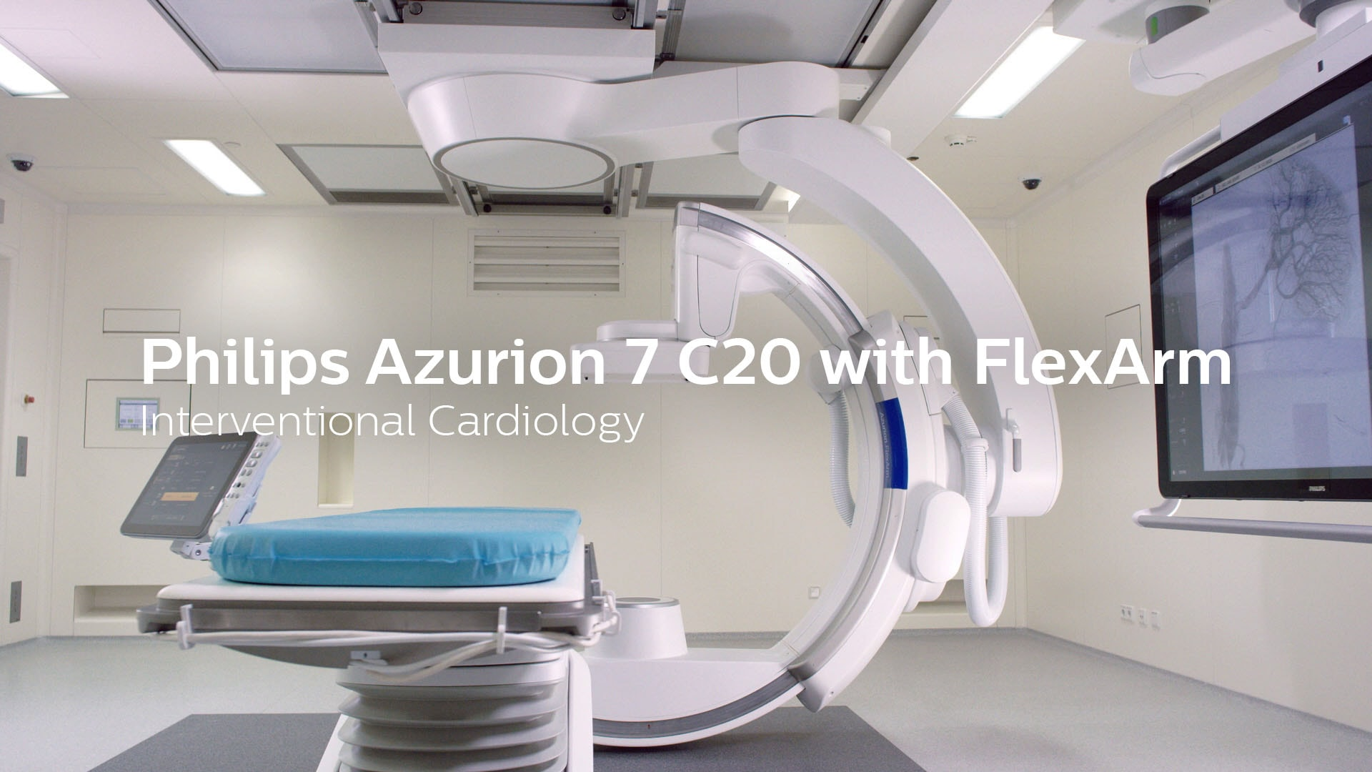 Philips Azurion 7 C20 with Flexarm interventional cardiology