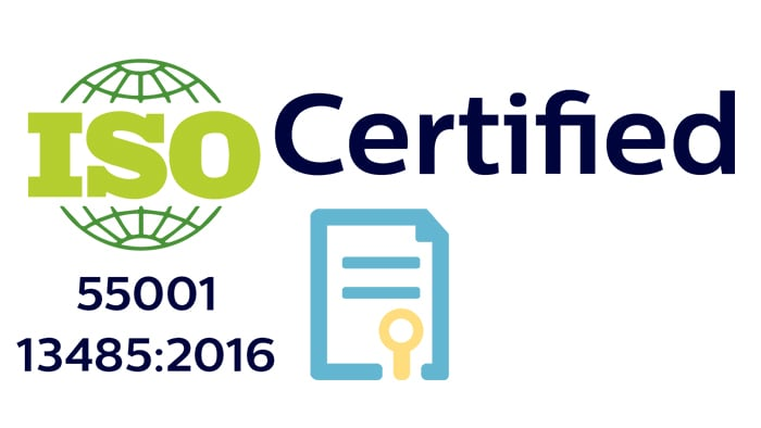 ISO 55001 Certified