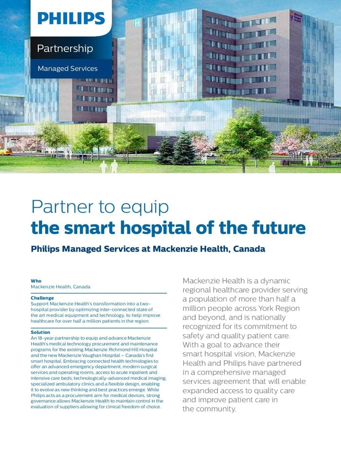 Mackenzie health advancing hospital vision