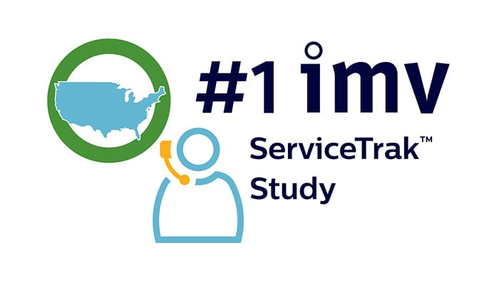 Number one imv ServiceTrak Study