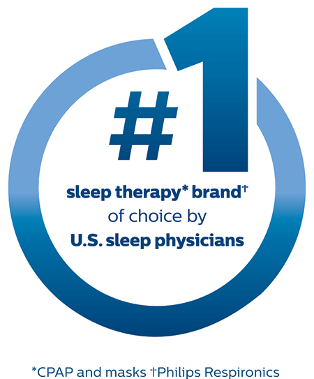 Number one sleep therapy brand of choice by sleep physicians
