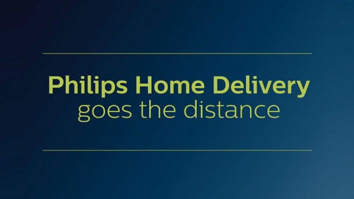 Philips home delivery video