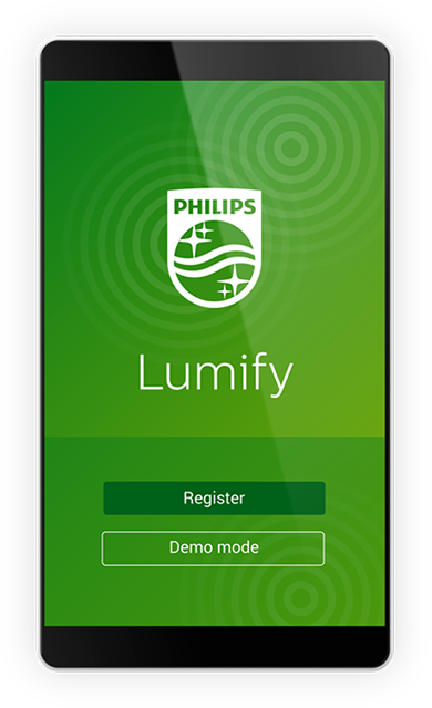 Philips handheld ultrasound product Lumify app