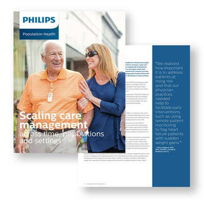 Philips Population Health Management - Scaling care