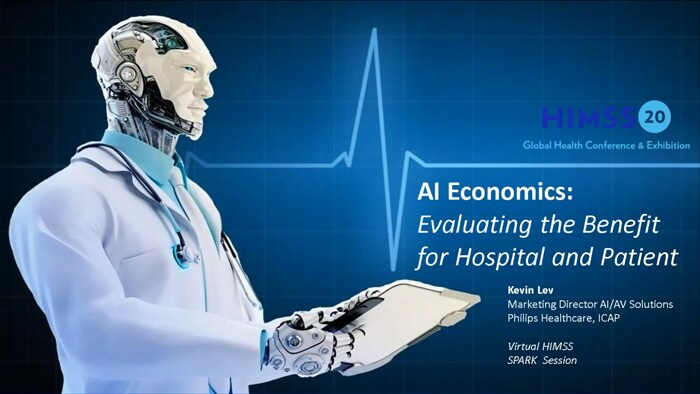AI economics: Evaluating benefit for hospital and patient - video