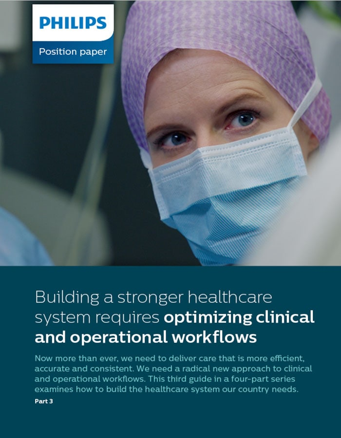 Clinical and Operational Workflow position paper (opens in a new window)