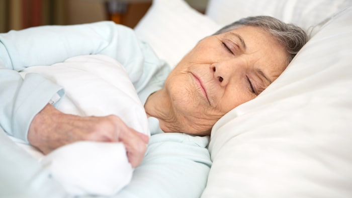 Sleep apnea in older patients