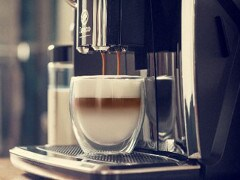 Philips Saeco espresso machine milk froth