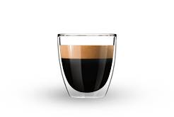 A cup of espresso intenso