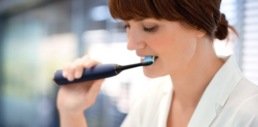 Philips Sonicare toothbrushes, How to brush your teeth