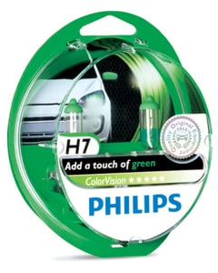green bulb package