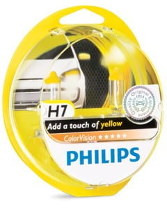 yellow bulb package