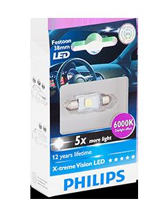 LED light bulbs  car interior  exterior  Philips