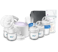 Philips Avent Double Electric Breastfeeding set