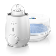 Bottle warmers and sterilizer for baby bottles Philips avent