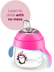 Philips Avent Straw sippy cups 6 months 9 months