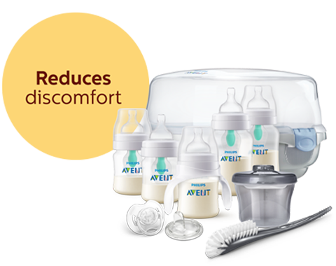 Anti-colic bottle sets Philips Avent