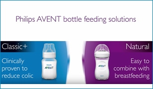 Philips Avent Baby Bottles, the right bottle for your baby