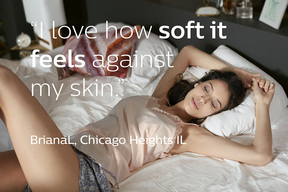 I love how soft it feels against my skin video