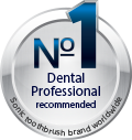 Recommended by dental professionals Icon