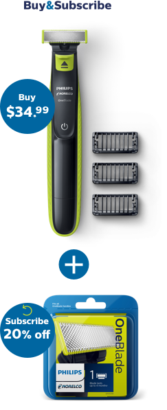OneBlade  Trim, edge & shave any length of hair | Philips