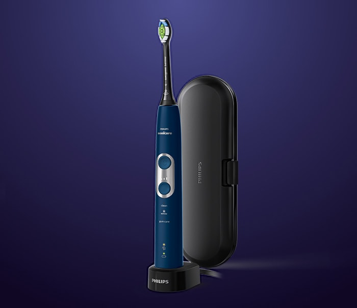 Philips Sonicare 6100 protective clean blue