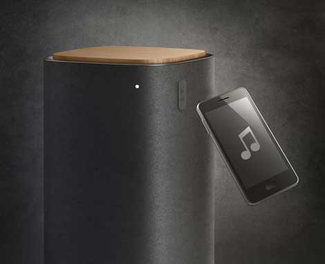 Philips Fidelio features Bluetooth and NFC