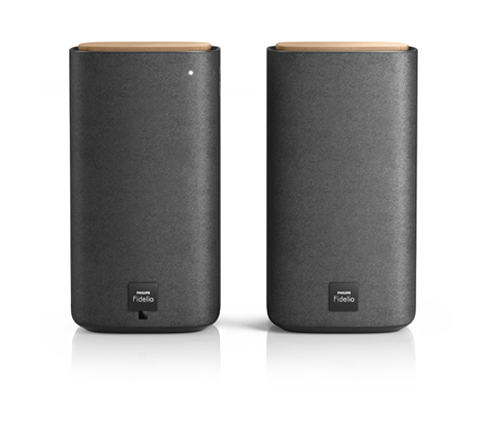 Fidelio Wireless and Bluetooth Speakers: Form follows function