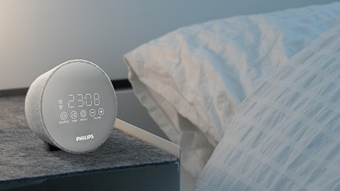 Philips radio alarm clock, DAB+ FM radio clock