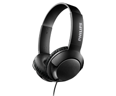 Philips BASS+ Headphones with mic