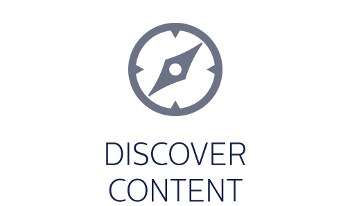 Discover content icon