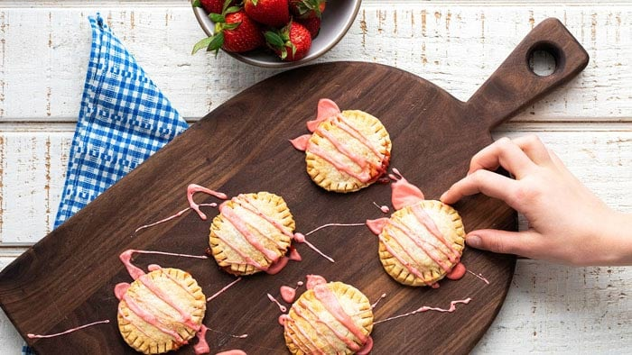 Strawberry Hand Pies Philips Airfryer Recipe