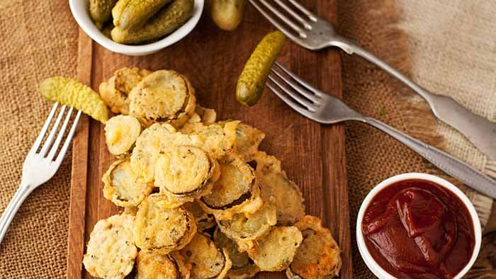 Air Fried Pickles