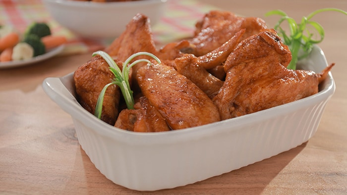 Sriracha Honey Wings