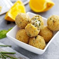 Ricotta Balls with Basil | Philips