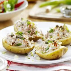 Roast Potatoes with Tuna