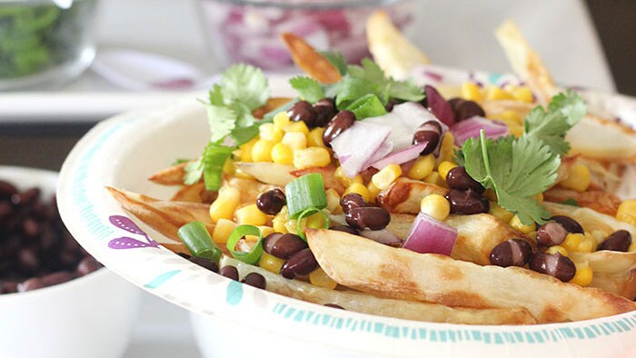 French Fry Nacho Bar Recipe