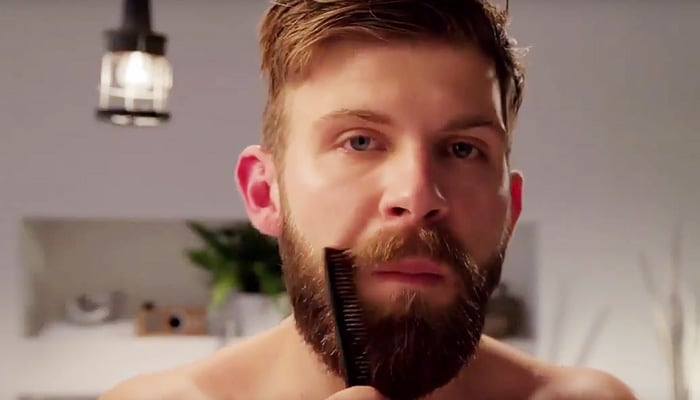 Caring for your beard means leaving it be