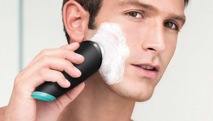 Exfoliate and cleanse before shaving