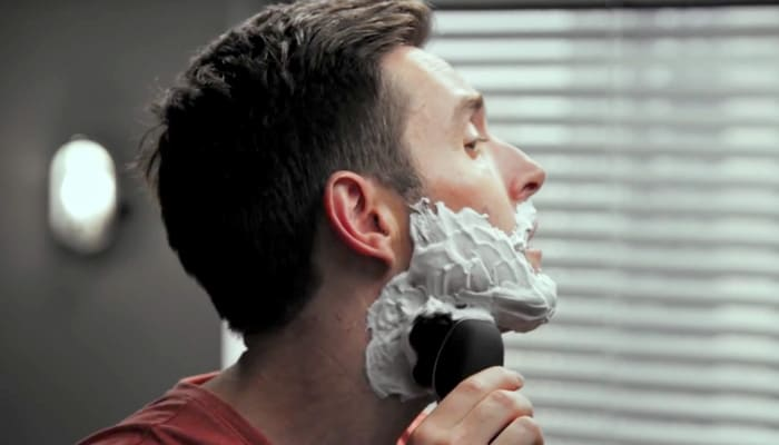 Wet shave video