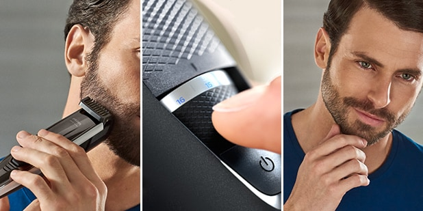 how to fade your beard